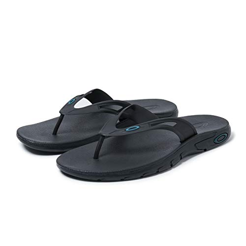 Oakley 15204-02E-10 Ellipse Flip Blackout UK10 Flip Flop