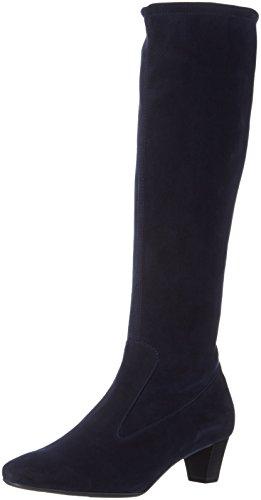 Peter KaiserOFELA - Stivali alti con imbottitura leggera Donna , Blu (Blau (NAVY SUEDE 238)), 39 EU