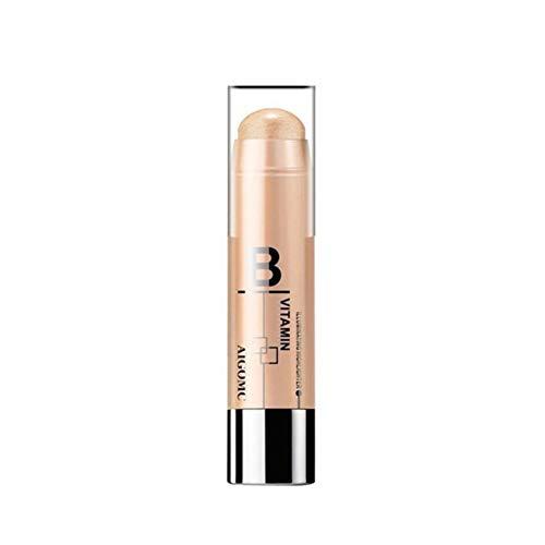 Angmile Highlighter Bronzer Stick Gesicht Körper aufhellen Licht Shimmer Concealer Make-up Comestic