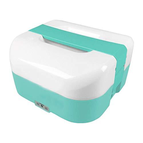 Nuovo lunchbox elettrico xl compatto con capienza 1,6l - scaldavivande porta pranzo scalda vivande lunch box termico scaldino portatile schiscetta elettrica portapranzo termico con posate - 3380