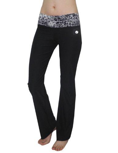 bally-total-fitness-womens-casual-loungewear-yoga-pants-s-black