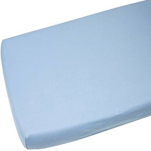 For-your-Little-One 2x Cot Bed Fitted Sheets 100 Cotton Blue