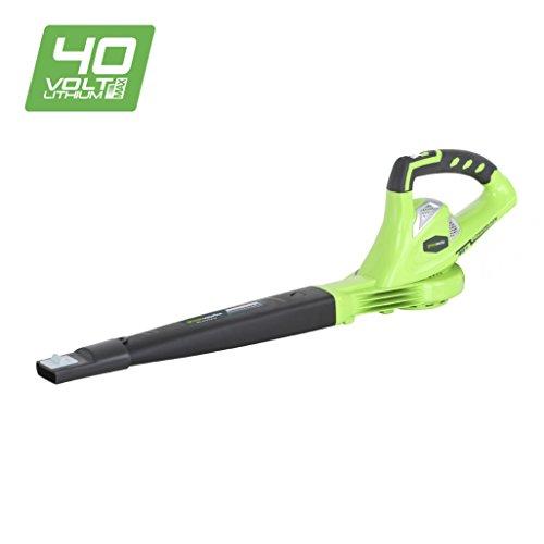 Greenworks 40V Akku-Laubgebläse (ohne Akku und Ladegerät) - 24107
