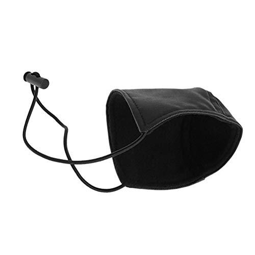 Vosarea Schutz für Schuhe, Schutz vor Abnutzung, Schutz der Ferse, Abdeckung für die Schuhe, für die Fahrer, 1 Stück, Schwarz (Schwarz-fahrer-schuhe)