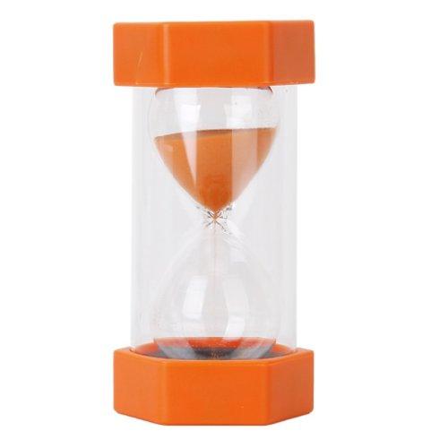 Gleader Hourglass Sablier de 20 Minutes de securite et a la mode - Orange 0888309490766