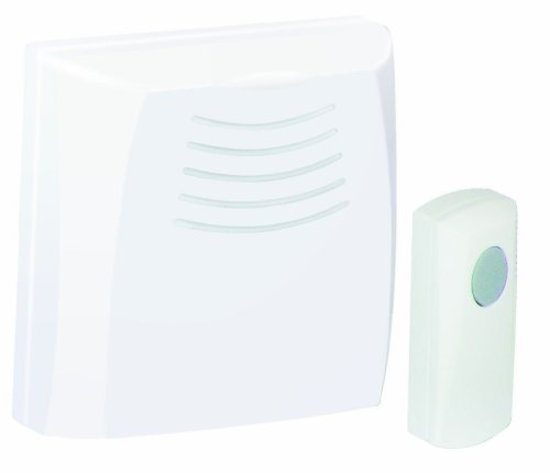 Honeywell RCWL110A1006/N Wallmount Wireless Doorbell / Door Chime and Push Button Elite Wall Mount