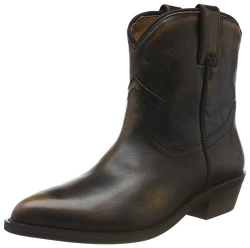 Buffalo Damen FAM Cowboystiefel, Braun (Dark Brown 001), 41 EU