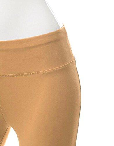 ZKOO Donne Pantaloni Lunghi Yoga Pantaloni Danza Del Ventre Pantaloni Allenamento Diversi Formati E Colori Cachi