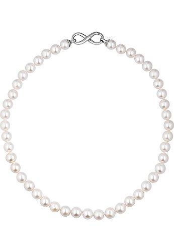 CHRIST-Pearls-Damen-Collier-925er-Silber-Swasser-Zuchtperle-wei-One-Size