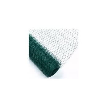 """2/"""" hole - Livestock Fencing Roll Ideal for Chickens Mesh Wire Fence PVC Coated Netting Garden /& Farm Security Fences Rabbits,Dogs Premium window guards Indusrial and DIY. 3ft x30Mts"""