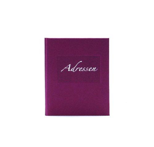 Goldbuch 66048-Adressbuch Seda, 11 x 17 cm, 117 Seiten