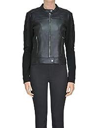 uk availability aad2d 5f1b1 Giacca Pelle it Abbigliamento Di Donna Amazon Pinko wq5WRnOvOt