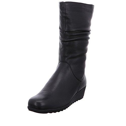 9 Stiefel Caprice 29 Nappa Black 022 26455 Black Gefüttert wIBfqzRBd