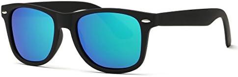 Kimorn Polarized Sunglasses Classic Unisex Horn Rimmed 80's Retor Eyewear AE0300