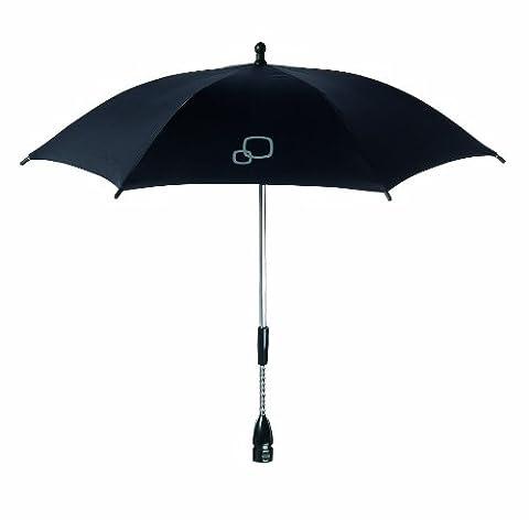 Quinny Sonnenschirm für Quinny Kinderwagen und Buggys, UV-Lichtschutzfaktor von 40+, schwarz