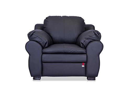 Durian Berry 55003 Single Seater Sofa (Black)  available at amazon for Rs.22000