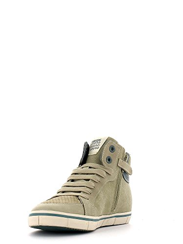Geox - Kiwi D, Sneaker Bambino Sand/sage