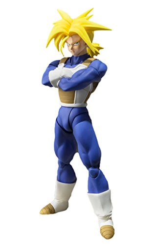 TAMASHII NATIONS Bandai Super Saiyan Trunks (Cell Saga Version) Dragon Ball Z Action Figure 1
