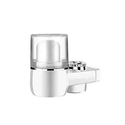 Chshe®-Wasserhahn-Wasserfilterhahn, Wasserhahn-Wasserfilter Für Spülbecken Oder Badmontage Filtrationshahn-Luftreiniger, Wasserfiltrationssystem Langlebiger Leitungswasser-Luftreiniger (Transparent)