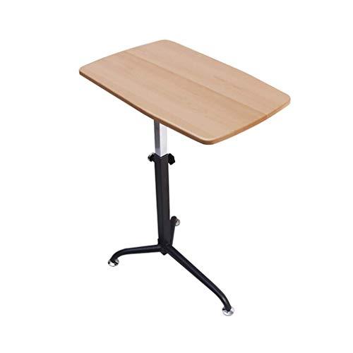 JAG Haushalt Mobile Stehen Schreibtisch, Laptop Tablett Tisch Stehen Nacht Einstellbare Klapp Mobile Lazy Computer Schreibtisch Bequem (Farbe: Log) -