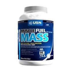 THREE PACKS of USN Muscle Fuel Mass Strawberry 1000g