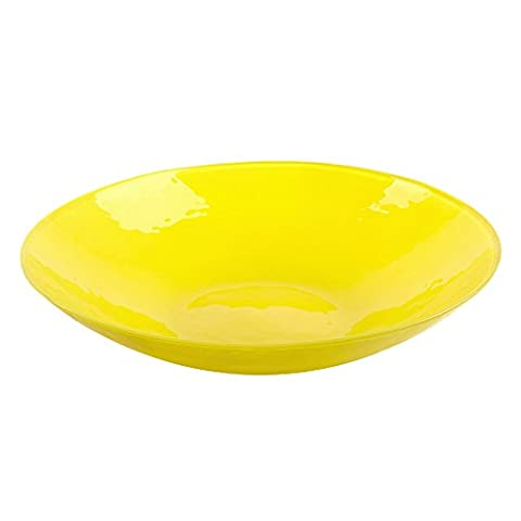 Bohemia Cristal 093 012 038 Play of colors Lime Soda Glass Bowl Diameter