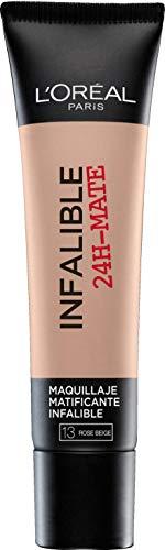 L'Oréal Paris Infaillible 24HMat Fondotinta Lunga Tenuta, 13 Beige Rosé