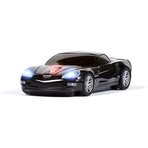 Road Mice–Ratón inalámbrico Corvette ratón (negro)
