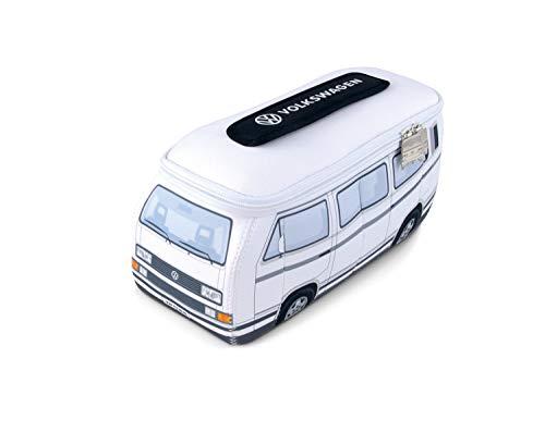 BRISA VW Collection VW T3 Bus 3D Neopren Universaltasche - Weiss