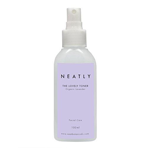 Gesichtswasser Lavendel Spray NEATLY LAVENDEL TONER | 100ml Bio Lavendel & Magnesiumöl | Ideal für sensible Haut | Beruhigend & Ausgleichend