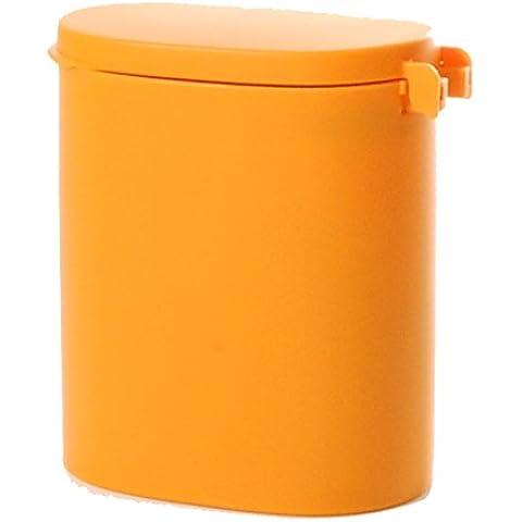 COLOR DECO WC pot Orange (japan import)
