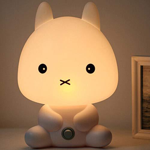 Lampada da tavolo creativa panda calda plug-in luce notturna san valentino regalo camera da letto lampada da comodino lampada alimentazione bambino coniglio