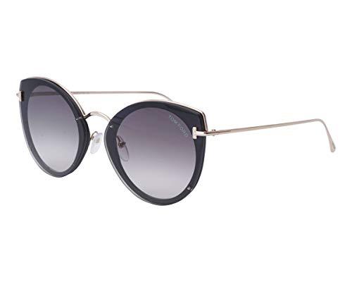 Tom Ford Sonnenbrillen Jess (TF-683 01B) gold - grau-braun verlaufend