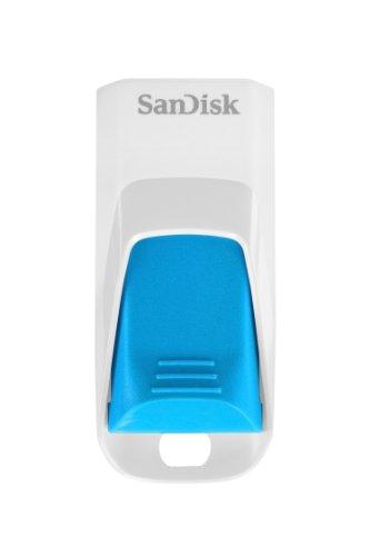 SanDisk Cruzer Edge 16GB USB-Stick weiß/blau