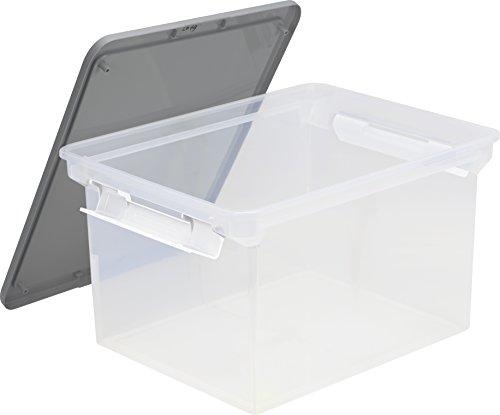 32 x 47 x 63,5 cm Plastique Blanc Simple Human CW1387CB 45L Liner Pocket Bin
