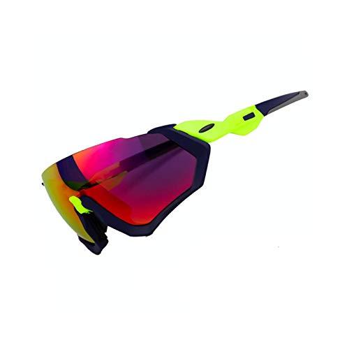 Gnzoe TPU+PC Fahrradbrille Outdoor Schutz Polarisierte Radsportbrille Sonnenbrille Schutzbrillen...