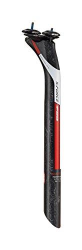 FSA Unisex k-Force, DI2sowie, SB25, Sattelstütze, Carbon/rot Aufkleber, 31,6x 400mm -