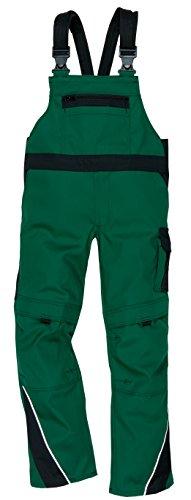 Works Kinderlatzhose 100% Baumwolle in grün-blau 2775/1 in Größe 176