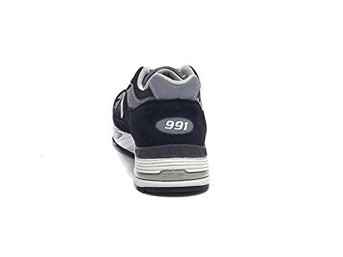 New Balance 991 M991-nv Homme Chaussures Bleu bleu marine