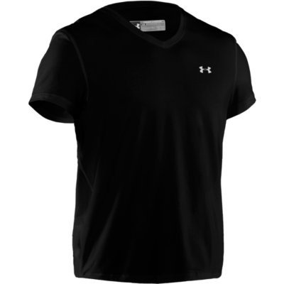 Under Armour Mens Charged Crew, black, XXL
