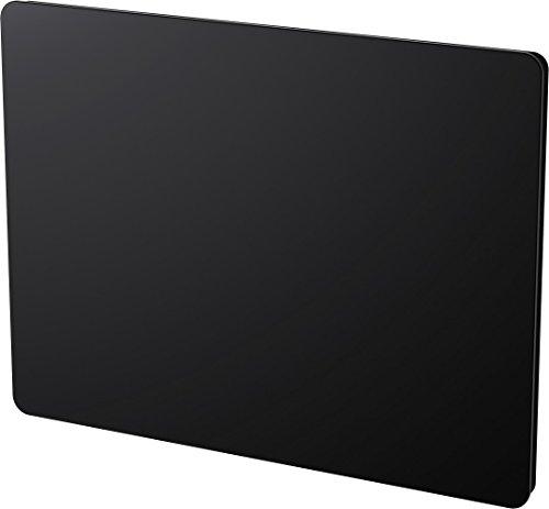 KLAAS/CARRERA Cayenne Schilder Rayonnant Glas schwarz LCD 1000 W