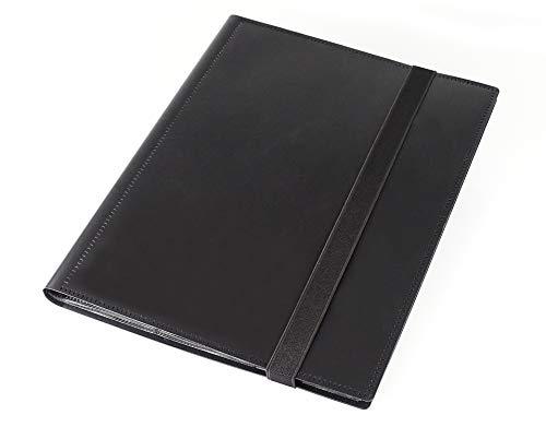 SeMa Home & Play Sammelalbum schwarz für 360 Karten, z.B. für MTG Magic, Pokemon, Yu-Gi-Oh, Match Attax -