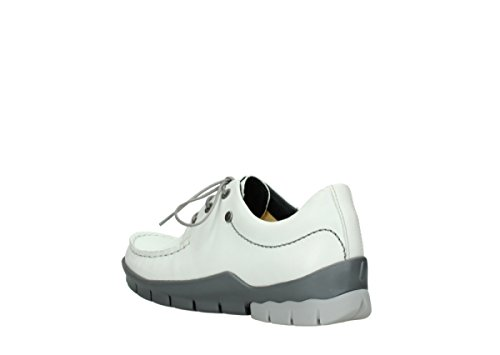 Wolky Comfort Chaussures à lacets Natalia 70100 cuir blanc