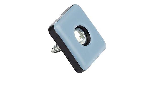 M/öbelgleiter 16 St/ück I Teflon I selbstklebend I 25x25 mm I PTFE-Beschichtung I Gleiter Laflon Supergleiter Stuhlgleiter