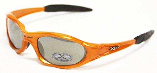X-Loop Sport-Sonnenbrille 0101 Für Aktiv Sport, Angeln, Radfahren, Golf, Kajak - Wählen Sie Farbe (, Reflective) 3 reflektierende Orange