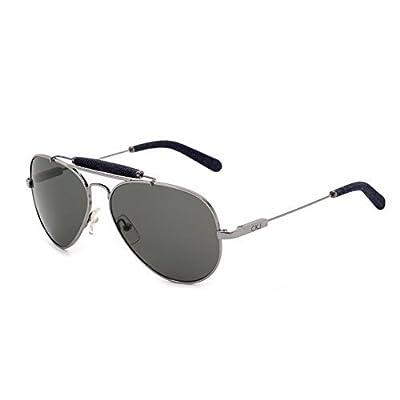 Calvin Klein Jeans Black Aviators Mens Womens Sunglasses Luxury Eyewear CKJ101S.