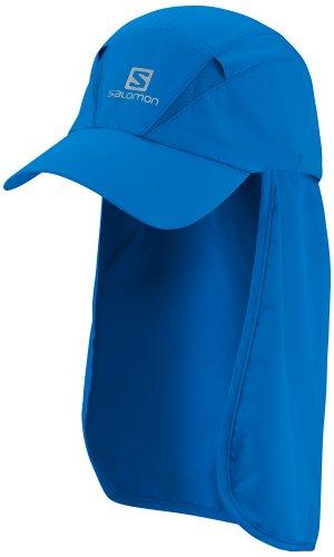 Salomon XA + Cap, Casquette avec pare-soleil unisexe bleu ciel
