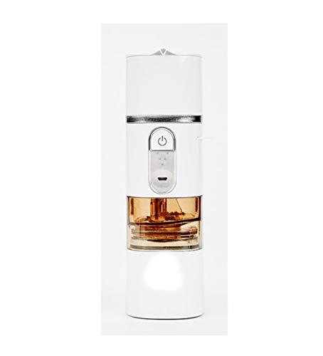 WUANNI 5 In 1 Elektrische Kaffeemaschine Startseite Einknopf Anti-Tropf Design Espresso Small...
