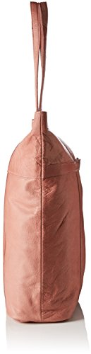 PIECES Damen Pcjacky Leather Shopper Schultertasche, 13 x 42 x 34 cm Pink (Ash Rose)