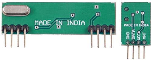 Robo India RF434 Rf Module 434-Mhz, 1 Transmitter + 1 Receiver